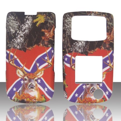 Camo Rebal Flag Stem Samsung SGH Rugby II 2 A847 ATT Case Cover Phone Snap on Cover Case Faceplates