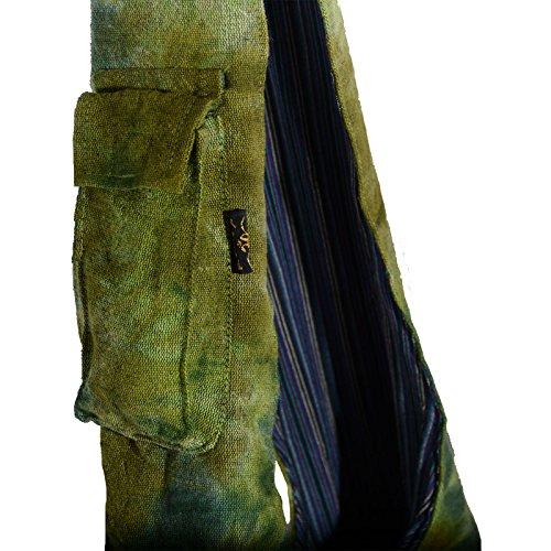 Kunst und Magie, Borsa a spalla donna ca. 30 x 32 x 14 cm Verde