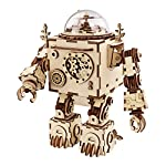 Robotime Laser Cut Wooden Puzzle-DIY Mechanism Music Box-Wooden Model Building-Birthday for Kids and Adults 4