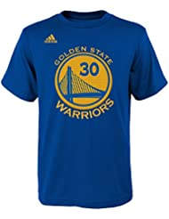 Stephen Curry Golden State Warriors Youth Adidas NBA Player Blue Camiseta de Niños, large