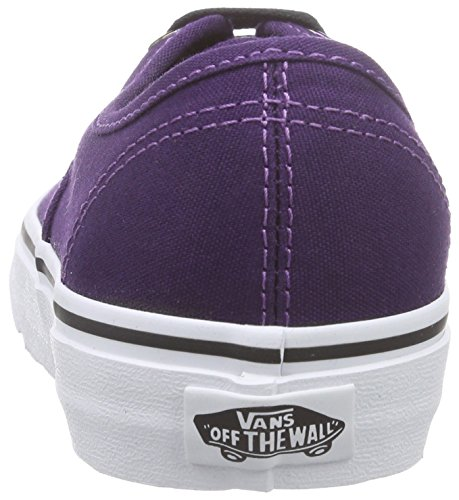 Vans U Authentic Iridescnt Sneakers, Unisex Viola (iridescent eyelets blackberry/true white)