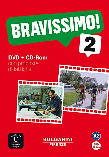 Preisvergleich Produktbild Bravissimo 2: Corso d'italiano. DVD + CD-ROM (Bravissimo! / Corso d'italiano, Band 2)