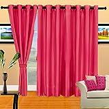 Cortina Plain Crush Window Curtain-45 In...