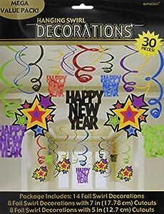 Amscan International-679499Swirl Jewel Toned decoración Set