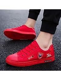 NANXIEHO Zapatos de Lona de los Hombres Zapatos de Hombre de otoño e Invierno Zapatillas de