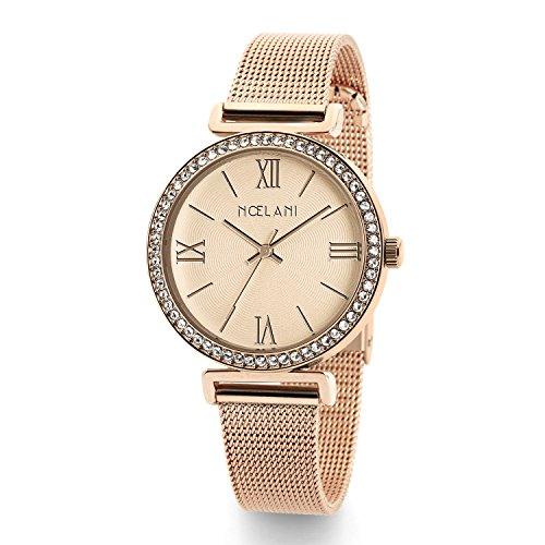 Noelani Damen-Armbanduhr Swarovski Kristalle Analog Quarz 2015549