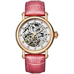 Automatic mechanical watches/Strap waterproof women's table/Fashion dial-G