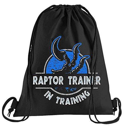 T-Shirt People Raptor Trainer Sportbeutel - Bedruckter Beutel - Eine schöne Sport-Tasche Beutel mit Kordeln -