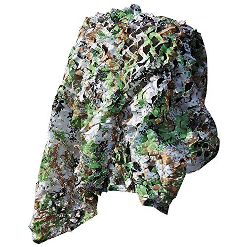 WWWRL Digital Camouflage Net, Sonnenschutznetz, Verschlüsselung Verdicken - Militär/Dschungel/Terrasse/Jagd/Schießen -