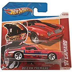 Hot Wheels '81 Camaro 2012 HW Premiere