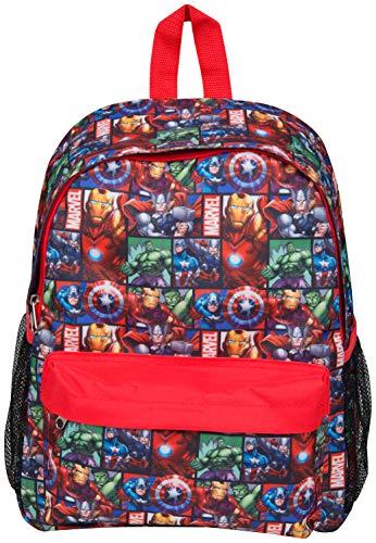 Mochila Marvel Avengers Capitán América Thor Hulk Iron Man para Niños Maleta Escolar Saqueo Viaje