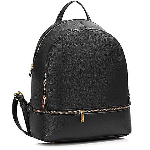 Backpack For Women Ladies Rucksack School Bags Women's Qualtiy Fashion Faux Leather Handbag (Y -