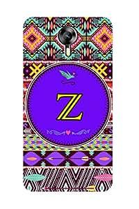 ZAPCASE PRINTED BACK COVER FOR MICROMAX EXPRESS 2 Multicolor