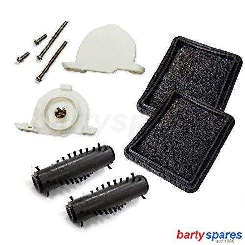 bartyspares® Tesco VC108VCBD1411VC010alfombra de suelo duro para aspiradora herramienta cepillo cabeza Accesorios para aspiradoras Hogar y cocina
