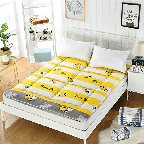 Atmungsaktive Schlafen Tatami Bodenmatratze,traditionellen Futon Mat Matratzen,weich Dick Mattres Matratzenauflage,japaner Bett Roll Bettdecke Für Sommer-j Twin Xl -