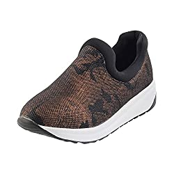 Metro Women Brown Synthetic Walking Shoes (Size EURO39/UK6) (36-8066-12-39-BROWN)