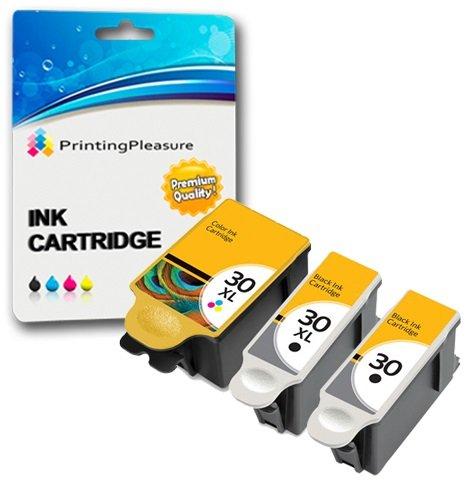 Den Kodak Tintenpatronen Esp C310 Für (3 XL Tintenpatronen kompatibel zu Kodak 30XL (30B & 30CL) für Kodak Hero 2.2 3.1 4.2 5.1 ESP 1.2, 3.2, 3.2S C100 C110 C115 C300 C310 C315 C330 C360 Office 2100 2150 2170 AIO - Schwarz/Color, hohe Kapazität)