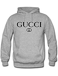 Gucci - Sweat-shirt à capuche - Homme -  gris - Medium