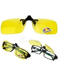 Luoxxxka Gafas de Sol polarizadas para conducción Diurna, visión Nocturna, Lentes de Sol con