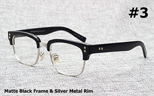 Mode The Statesman Beckham Sonnenbrillen Brillen-Rahmen Vintage Brand Design Myopie Optical Oculos De Grau Sol