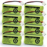 BAOBIAN BAOBIAN BT183342 BT283342 2.4V 400mah Ni-MH Cordless Phone Battery Compatible with AT&T