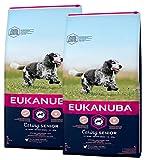 Eukanuba 2 x 15 kg Mature Senior Medium Hundefutter für ältere mittelgroße Hunde