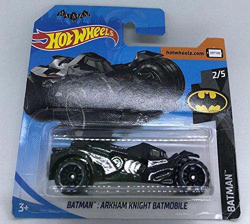 Hot Wheels 2018 Batman Arkham Knight Batmobile Black 2/5 112/365 (Short Card)
