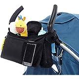 Kangkang@ Multi-functional Baby Stroller Pram Hanging Milk Bottle Cup Diaper Holder Organizer Storage Bag Pouch Mother Shoulder Bag