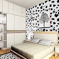 Zhzhco Wohnzimmer Gepolsterter Pvc Selbstklebend Tapeten Kleben Dekorative Tapete Hintergrund Wallpaper Wallpaper Wasser Wild Schlafzimmer Wohnzimmer 45Cm*10M