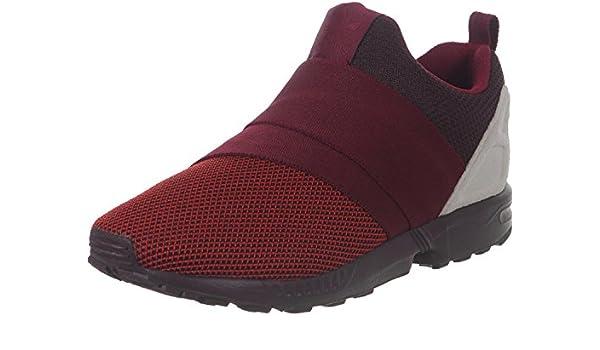 adidas Zx Flux Slip On, red Collegiate Burgundy Off White