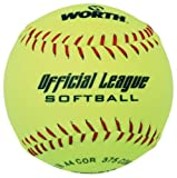 "513gf9pWykL. SL160  - Worth 12"" Recreational Softball (YWCS12) (single ball) sports best price Review uk"