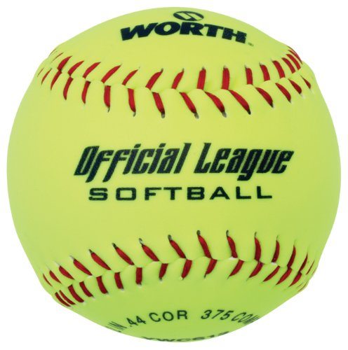 "513gf9pWykL - Worth 12"" Recreational Softball (YWCS12) (single ball) sports best price Review uk"