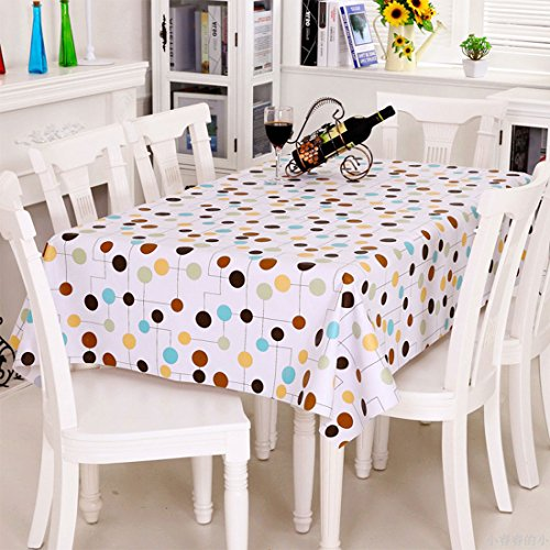 sourcingmap-vinyl-rectangle-table-cover-wipe-clean-pvc-tablecloth-oil-proof-waterproof-stain-resista