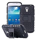 ECENCE Samsung Galaxy S4 Mini I9190 I9195 I9192 Duos Outdoor Case Handy-Tasche Schutz-Hülle Hybrid Bumper Silikon + Panzerfolie 43010108