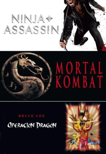 Triple Pack: Ninja Assassin + Mortal Kombat + Enter The Dragon (Import) (Dvd) (Mortal Kombat Dragon)