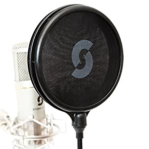 Dual Layer Pop Filter - The worlds great pop Filter