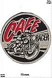 Patch - Cafe Racer - Ace Cafe London - Musicpatch - Rock - Vest - Patches - Aufnäher Embleme Bügelbild Aufbügler