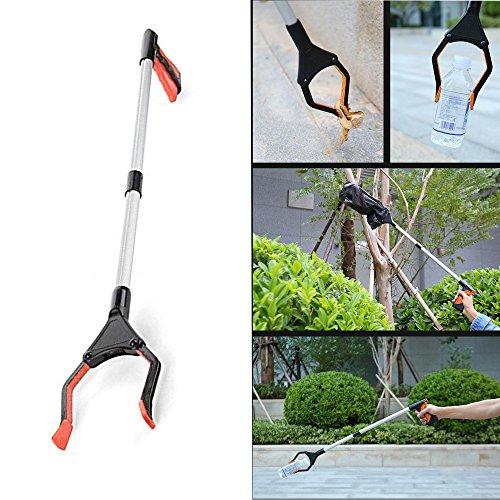 Grabber Reacher, Fellibay Grabber Werkzeug Grabber Greifzange, klappbar Helping Hand Pick Up Claw Mobilität Hilfe zu erreichen Assist Tool