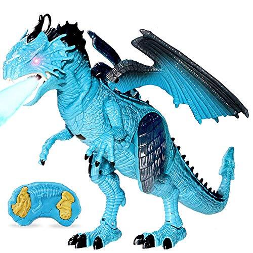 Ydq Ferngesteuerter Dino-saurier,Dinosaurier Spielzeug, Realistische Kleine Dinosaurier Figur Modell, Mädchen Für Weihnachten Und Zum Geburtstag, Geburtstags-Geschenk