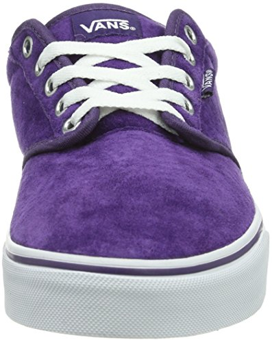 Vans W Atwood, Baskets mode femme Violet (Grape/White)