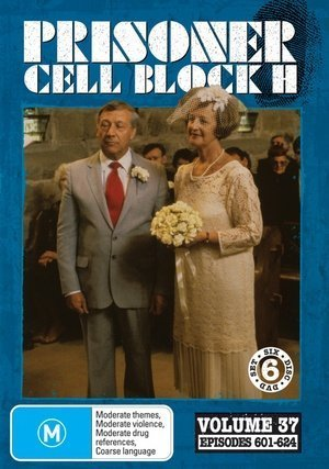 Prisoner: Cell Block H - Vol. 37 (Ep. 601-624) - 6-DVD Set ( Caged Women ) ( Women Behind Bars ) by Alan Hopgood (Caged Woman-dvd)