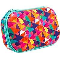 Zipit zpp de CTP colorz Caja Estuche ligero y duradero triángulos, multicolor