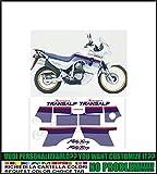 Kit adesivi decal stikers HONDA TRANSALP XL 600 V 50TH ANNIVERSARY 1999 (possibilità di personalizzare i colori)