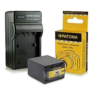 Chargeur + Batterie NP-FV100 / NP-FV90 pour Sony DCR-SR15E | DCR-SR37E | DCR-SR38E | DCR-SR47E | DCR-SR48E | DCR-SR57E | DCR-SR58E | DCR-SR67E | DCR-SR68E | DCR-SR77E | DCR-SR78E | DCR-SR87E | DCR-SR88E | HDR-XR100E | HDR-XR105E | HDR-XR106E | HDR-XR150E | HDR-XR155E | HDR-XR160E | HDR-XR200E | HDR-XR200VE et bien plus encore…