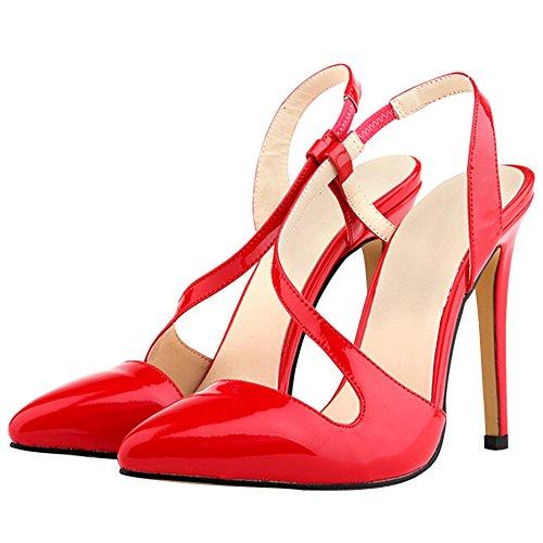 Fereshte Damen vermelho Damen Fereshte Spitz Qp RxRrwq