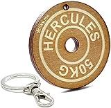 LIKY Gym Gewicht Hantel - Original Schlüsselanhänger aus Holz Gravur Geschenk für Damen Herren...