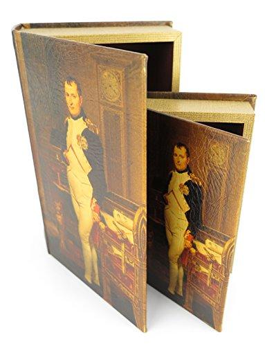 eimes skurriles Versteck Antikisierter Buchsafe Napoleon Bonaparte Geschenkidee Kolonialstil ()