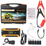89800 mAh 4 USB Portable Car Jump Starter Pack Booster Ladegerät Akku Power Bank