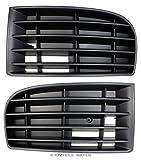 Set di 2x griglia di ventilazione Mascherina paraurti paraurti