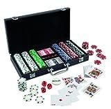 Malette Poker Valisette de 300 jetons (simili-cuir)